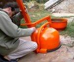 Инструкция по сбору бетономешалки