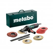 Болгарка Metabo WEVF 10-125 Quick Inox Set