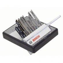 10 Пилок Bosch Дерево/Метал T-Хвостик. ROBUST LINE (2607010542)