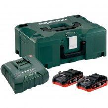 Набор аккумуляторов Metabo 18 В, 2x3.1 Ач, LiHD + MetaLoc (685078000)