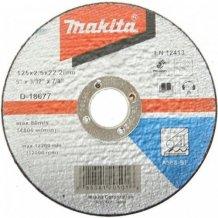 Круг отрезной по металлу Makita 125x2,5x22,23мм (D-18677)