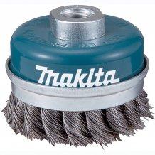Чашечная щетка c витой проволки 60 мм Makita (D-24153)