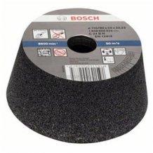 Конусный Чашечный Шлифкруг 110мм K60 Кам Bosch (1608600241)