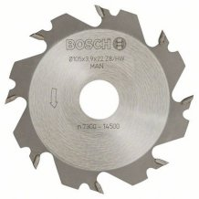 Дисковая фреза Bosch GFF 22 A 8, 105×22 мм, 4 мм (3608641013)