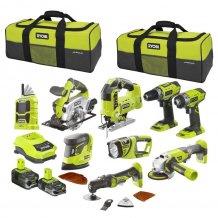 Набор инструментов Ryobi R18CK9-LL525S