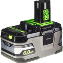 Аккумулятор 18 В, 6 Ач, Li-Ion RYOBI ONE+ RB18L60