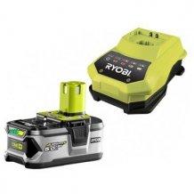Аккумулятор 18 В, 5 Ач, Li-Ion + зарядное устройство ONE+ RYOBI RBC18L50