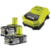 Зарядное устройство + аккумулятор 18 В, 2х2.5 Ач, Li-Ion RYOBI RBC18LL25 ONE+