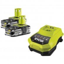 Аккумулятор 18 В, 1.5 Ач, 4 Ач, Li-Ion + зарядное устройство RYOBI ONE+ RBC18LL415