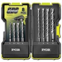 Набор буров Ryobi SDS Plus 8 предметов RAK08SDS
