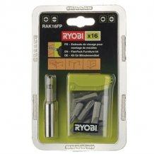 Набор бит Ryobi для сборки мебели 16 предметов RAK16FP