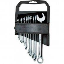 Набор ключей рожково-накидных Berg Cr-V 12 шт. (48-932)