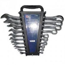 Набор комбинированных ключей Utool 10 шт. CrV (U10404)