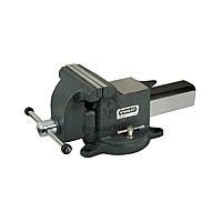 Тиски слесарные поворотные Technics черные 100 мм, 6 кг (42-840)