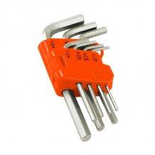 Набор шестигранников Truper ALE-7M в пластиковой кассете 7 шт (ALE-7M)