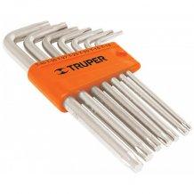 Набор ключей Truper Torx в пластиковой кассете, 9шт (TORX-9)