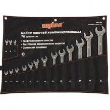 Набор комбинированных ключей Ombra 8-32 мм. (OMT16S)