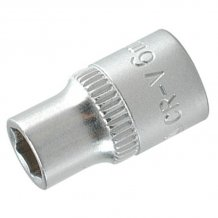 """Головка торцевая YATO шестигранная 1/4"""" 6 мм (YT-1405)"""