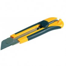 Нож универсальный Favorit с крутящимся фиксатором 25мм (13-310)