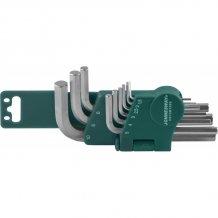 Набор шестигранников Jonnesway 1.5-10 мм, 10 предметов (H01SM109S)