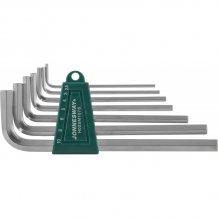 Набор шестигранников Jonnesway Long 2.5-10 мм, 7 предметов (H02SM107S)