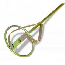 """Миксер-насадка Favorit для красок и штукатурки тип """"В"""" 12-30 кг 100 мм (09-041)"""