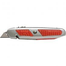 Нож MATRIX 18 мм, выдвижное трапециевидное лезвие (789679)