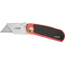 Нож MATRIX 18 мм, складной, сменное трапециевидное лезвие, + 10 лезвий (789009)
