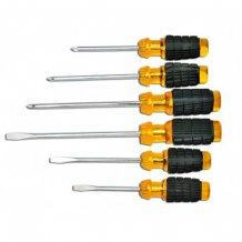 Набор ударостойких отверток Technics, мягкая ручка, 6 шт (47-505)