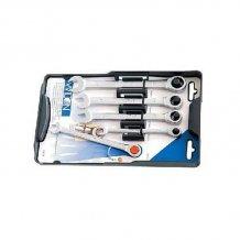 Набор трещеточных комбинированных ключей WILTON 8,10,12,13,15 мм (20012)