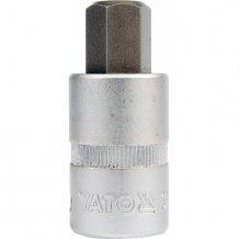 """Головка торцевая Yato 1/2"""" 12 мм с битой Hex (YT-7729)"""