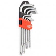 Набор ключей Yato Г-образных Torx 9ед. (YT-0511)