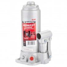 Домкрат гидравлический бутылочный MTX 5т. высота подъема 216-413мм (507219)