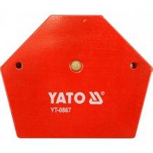 Магнитная струбцина YATO для сварки 111х136х24 (YT-0867)