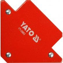 Магнитная струбцина Yato для сварки 82х120х13 (YT-0863)