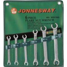 Набор ключей разрезных Jonnesway 8-19 мм, 6 предметов (W24106S)
