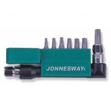 Комплект вставок Jonnesway ТORX T10-T40, 8 предметов (S08H2S8S)