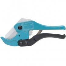Ножницы GROSS для резки изделий из ПВХ, универсальные, D-42 мм, порошковое покрытие рукояток (78424)