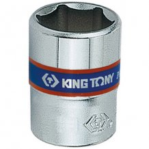 "Головка торцевая King Tony 1/4"" 6-гранная 4 мм (233504M)"