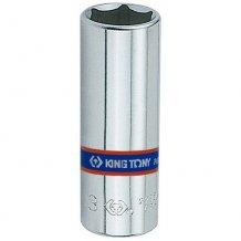 """Головка торцевая King Tony 1/4"""" 6-гранная 14 мм удлиненная (223514M)"""