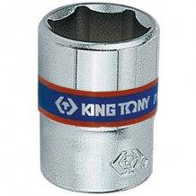 "Головка торцевая King Tony 1/4"" 6-гранная 9 мм (233509M)"