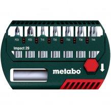 Набор ударных бит Metabo 29 мм, 8 ед.