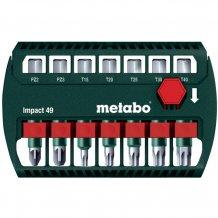Набор ударных бит Metabo 49 мм, 7 ед.