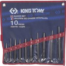 Набор выколоток, бородков, кернеров King Tony 10 предметов (1010PR)