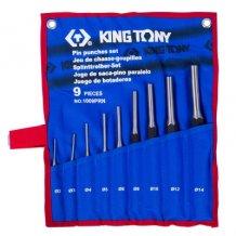 Набор выколоток, чехол из теторона King Tony 9 предметов (1009PRN)
