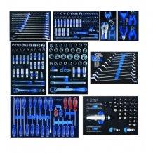 Набор  инструментов King Tomy для тележки 259 пр.EVO в мягких ложементах (без тележки) (934-018MR)