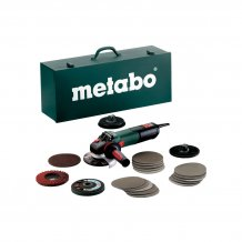 Болгарка Metabo WEV 15-125 Quick Inoх Set (600572500)
