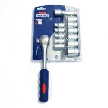 Набор: ключ трещеточный, удлинитель, торцевые головки Rubbermaid (10503682)