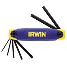 Шестигранные ключи Irwin LARGE BODY 7шт HEX 2.0 to 8.0 (T10765)