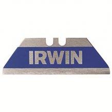 """Трапецевидные лезвия безопасные в упаковке Irwin Bi-Metal """"Blue"""" Trapezoid Safety Blade Bulk 100шт (10506460)"""
